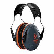 JSP Sonis Compact Low Profile Adjustable Ear Defenders - 32 dB SNR