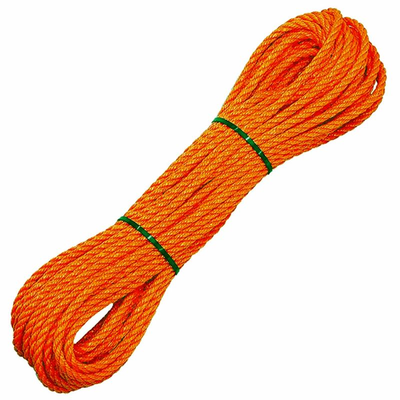 Polyethylene Orange Lifeline - 30m