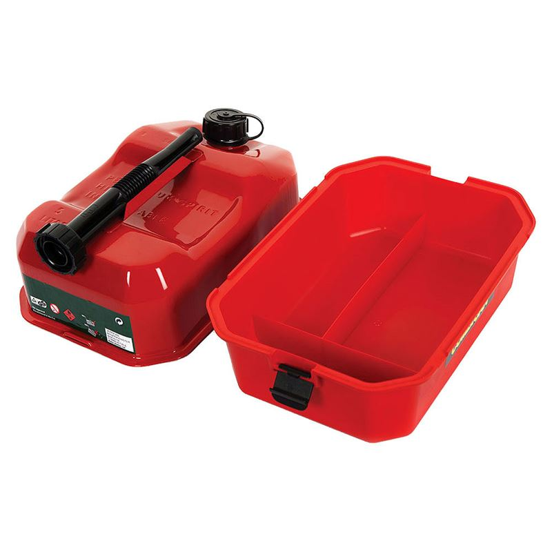 Combican Fuel Can and Tool Box - 5 Litre