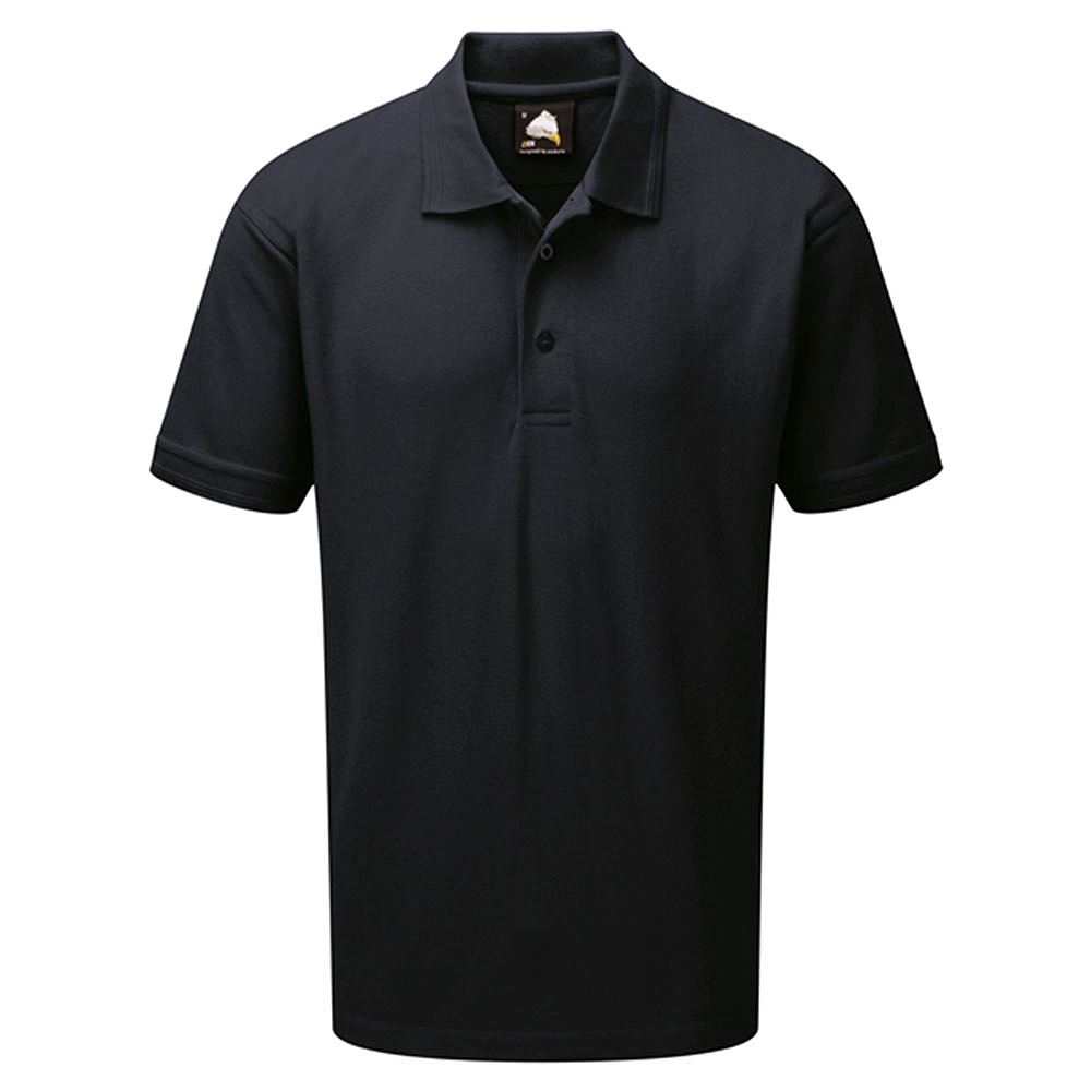 Orn Eagle Premium Short Sleeve Polo Shirt - 220gsm - Navy