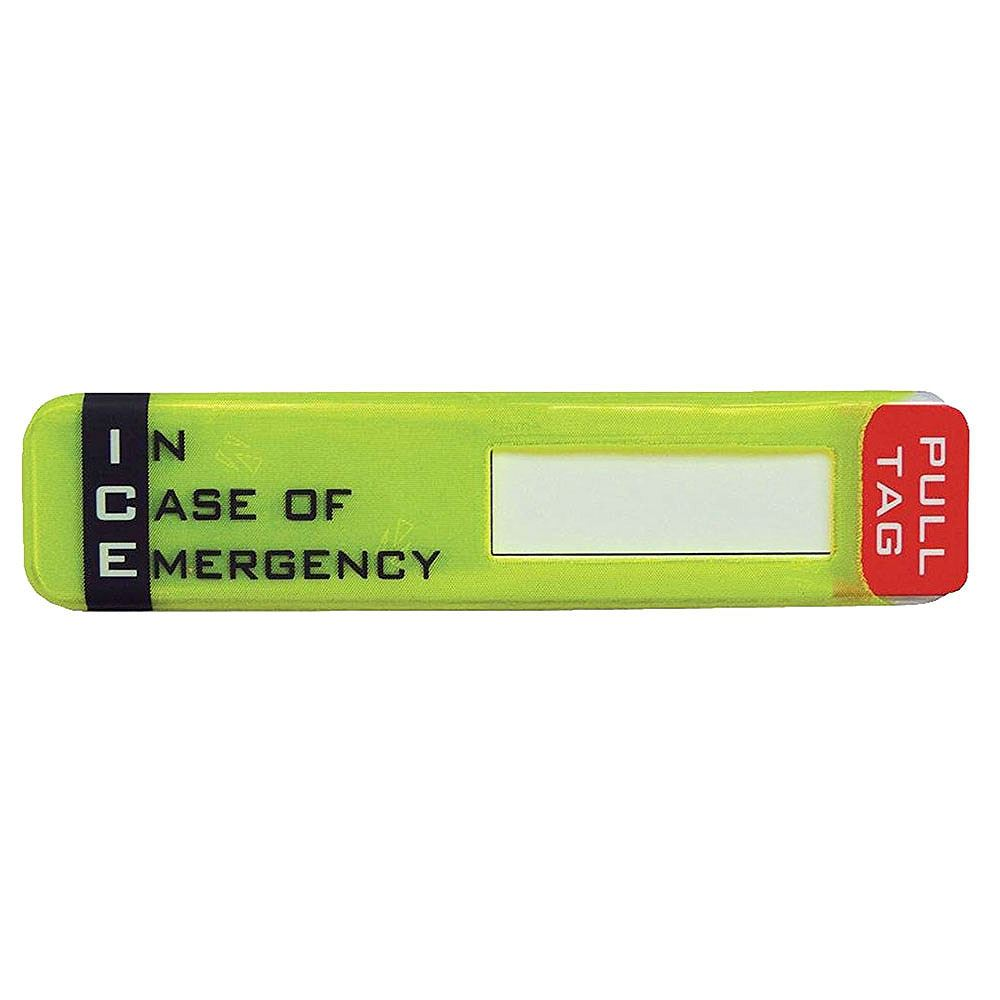 In Case of Emergency (ICE) Helmet Sticker