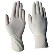Latex Powdered Gloves - Box of 100