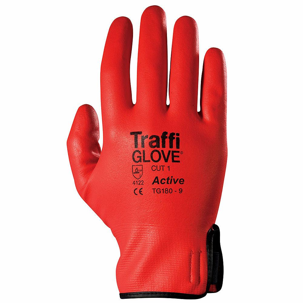 TraffiGlove TG180 Active Safety Gloves