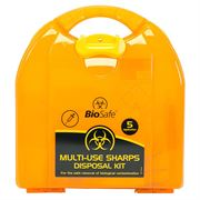 BioSafe Extra Sharps Disposal Kit