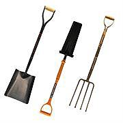 Shovels, Forks, Shovel Holers and Spades