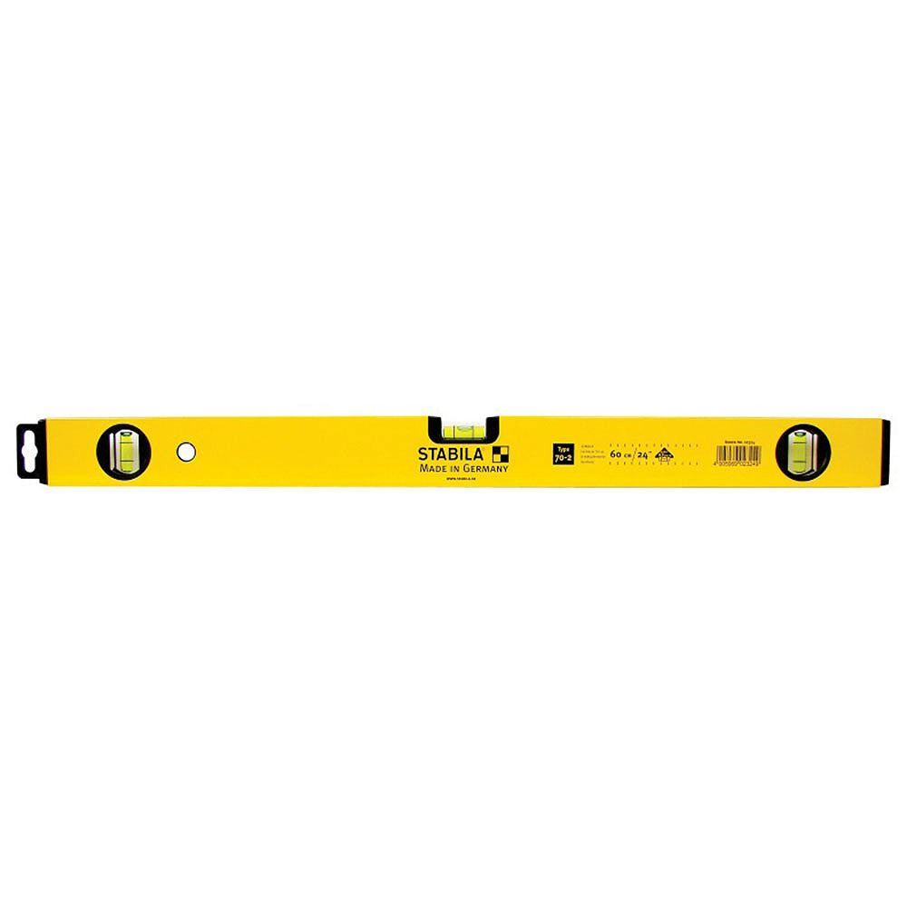 Stabila 70-2 Series Spirit Level - 3 Vials