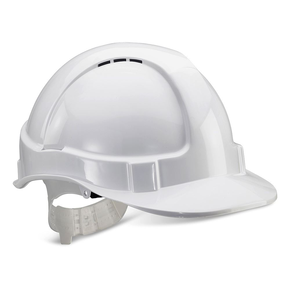 Cusack Standard Safety Helmet - White