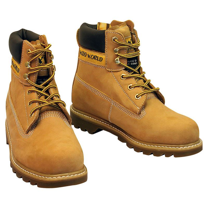 Wood World Texan Safety Boots