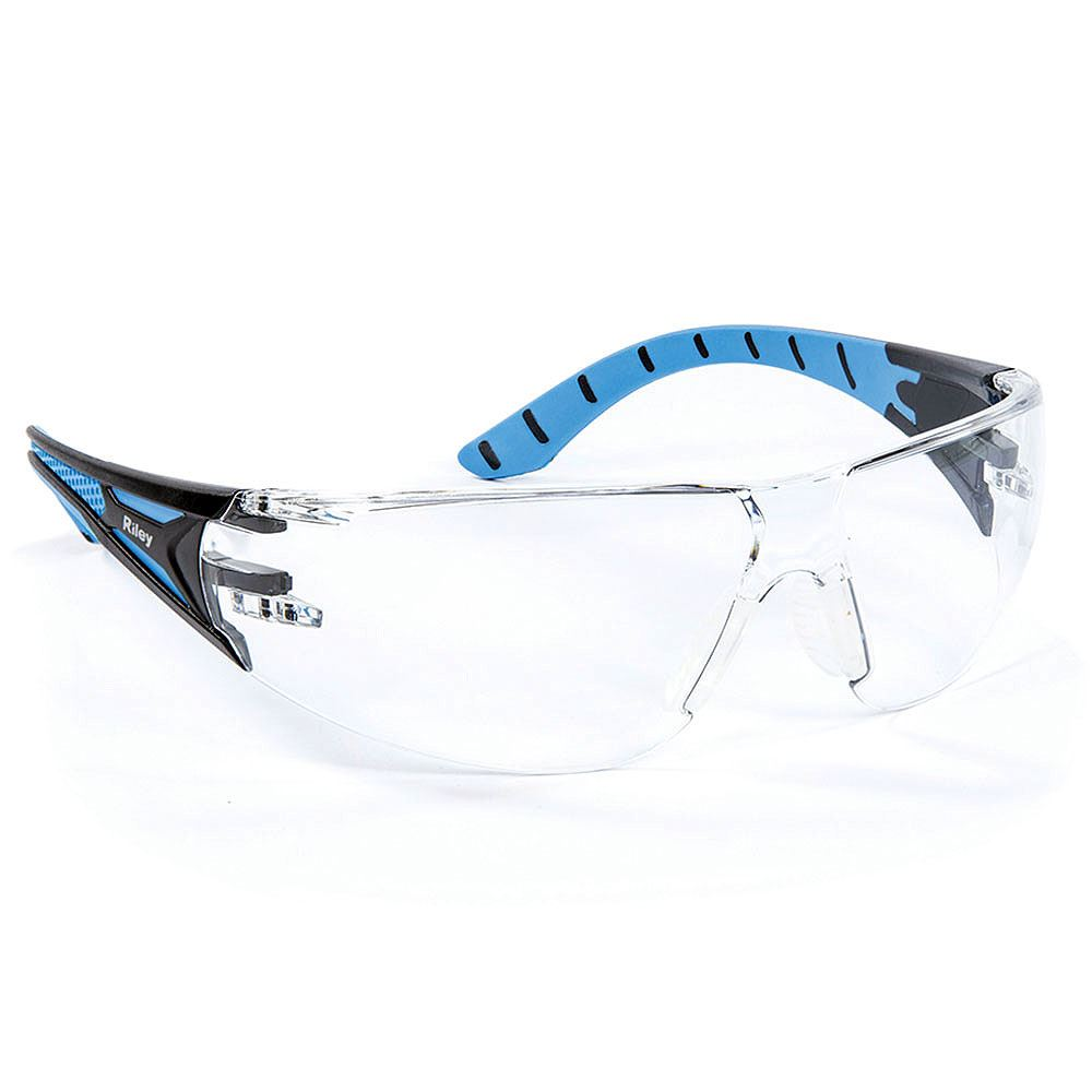 Riley Stream Safety Glasses - Clear Lens