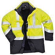 Flame Retardant Anti Static Waterproof Hi Vis Workwear