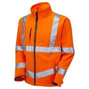 Jafco Rail Hi Vis Class 3 Orange Softshell Jacket