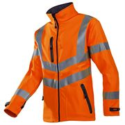 Sioen Dexter Rail Hi Vis Class 3 Orange Softshell Jacket