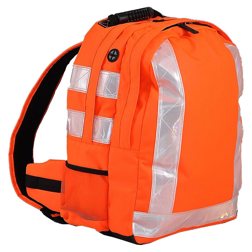 Rail Hi Vis Orange Rucksack