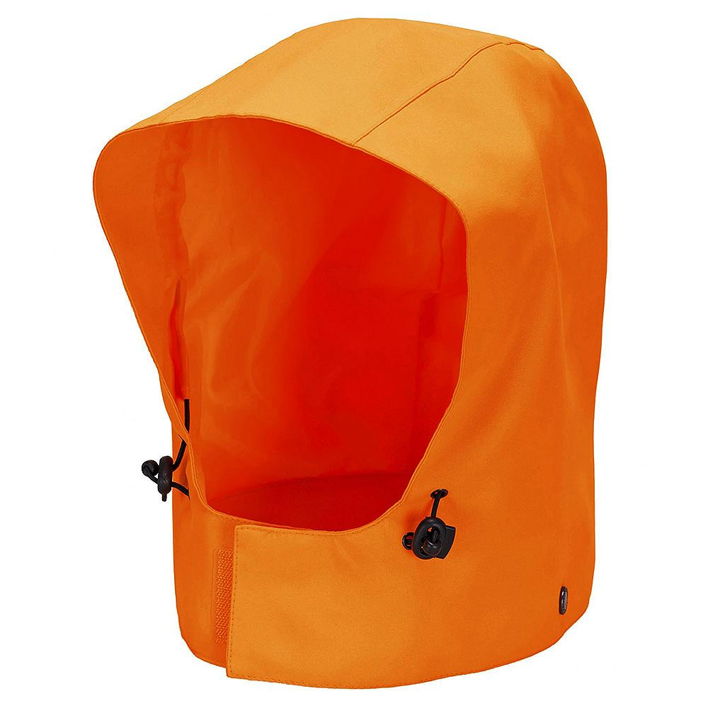 Waterproof Breathable Orange Extreme Hood - 200gsm