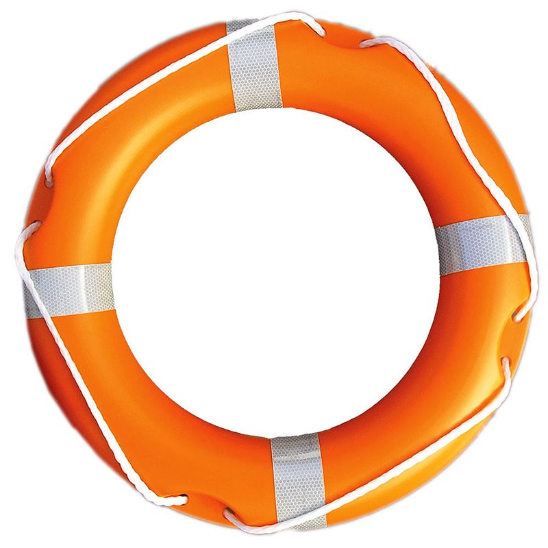 Lifebuoy - 24 inch - Orange - 57cm Approx Diameter