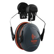 JSP Sonis Compact Low Profile Helmet Mounted Ear Defenders - 31dB SNR