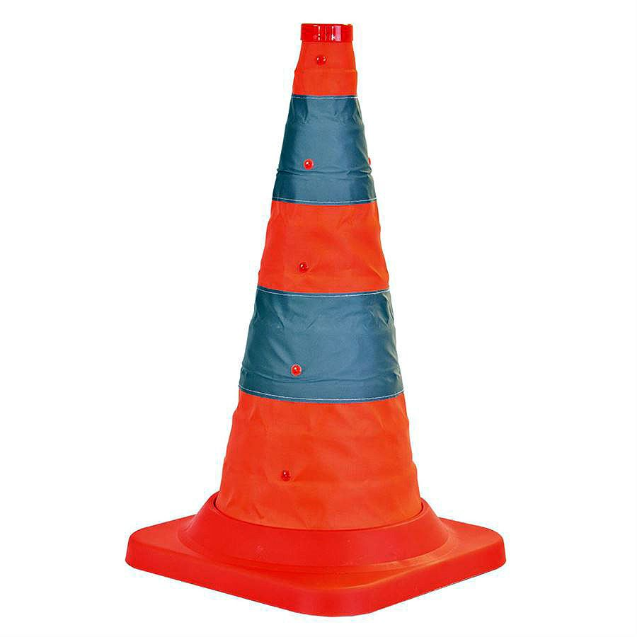 Pack-A-Cone Collapsible Traffic Cone - 500mm