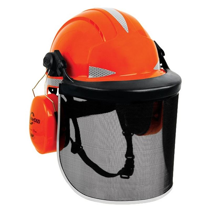 Jsp Evolite Deluxe Safety Helmet Forestry Kit Pf Cusack