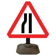 Louis Road Narrows Nearside Sign - 750mm