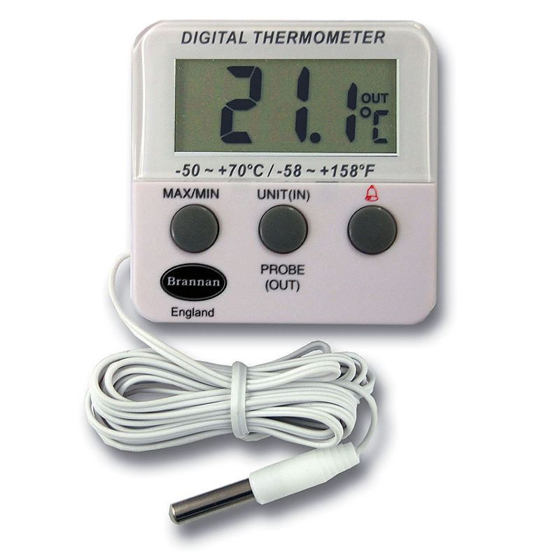 Brannan Digital Fridge / Freezer Thermometer