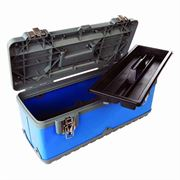 Silverline Plastic Tool Box - 470 x 238 x 203mm