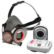 JSP Force8 Half Face Mask with PressToCheck P3 Filters