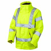 Leo Rosemoor Women's Waterproof Breathable Hi Vis Jacket