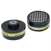 JSP ABEK1 Cartridges for Tradesman Half Mask - Pack of 2 Filters