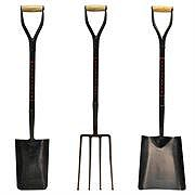 Steel Shovels and Forks