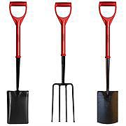 Jafco Polyfibre Shovels and Forks