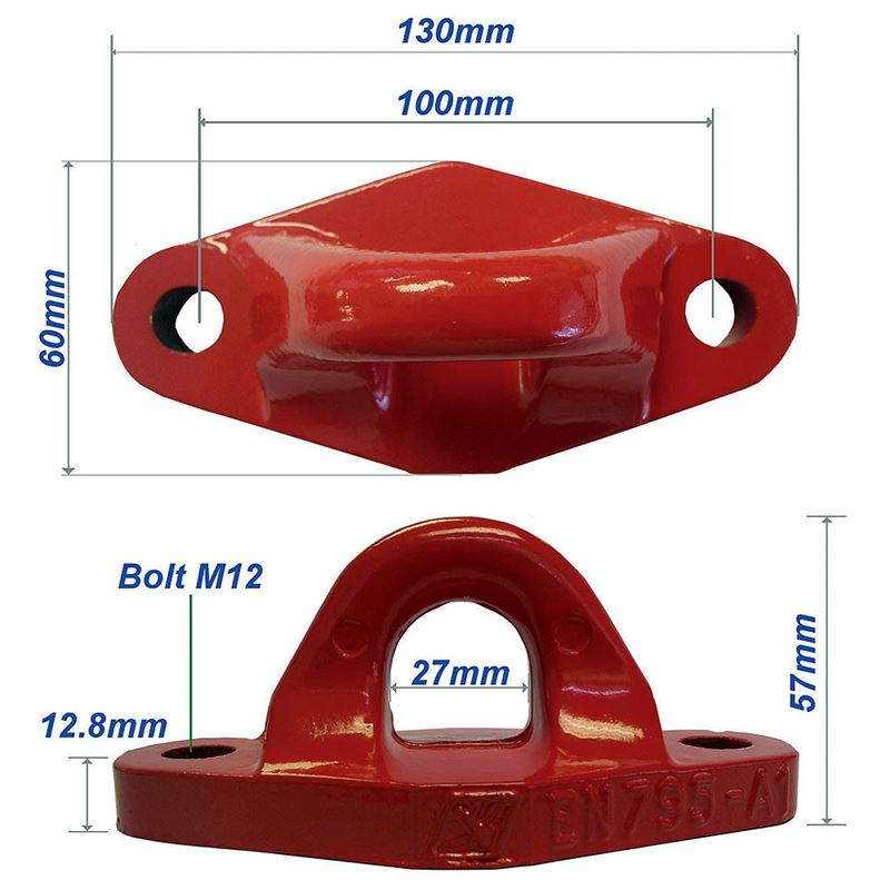 Tractel PA Fixed Anchor Point - Red